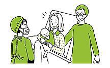 医師の立ち会い出産事情