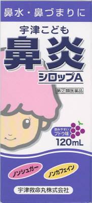 宇津こども鼻炎シロップA120ml