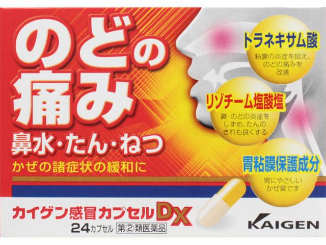 カイゲン感冒カプセルDX 24cp