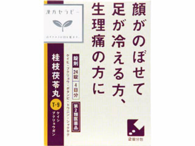 「クラシエ」漢方桂枝茯苓丸料エキス錠 24錠