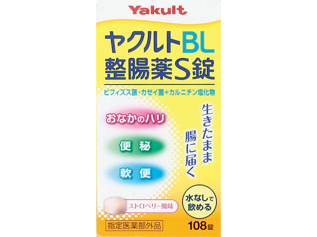 ヤクルトBL整腸薬S錠 108錠